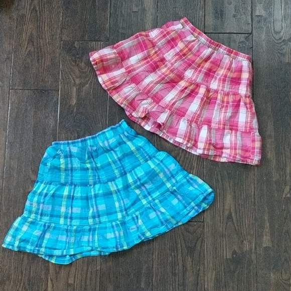 4/$20 SALE Osh Kosh Girls' Plaid Skirts
